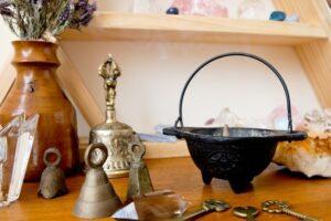 Altar para Wicca