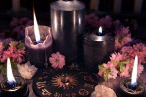 Velas Wicca
